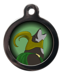 Loki - Superhero Themed Dog ID Tag