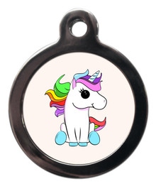 Cute Unicorn Pet ID Tag