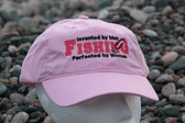 Fishing Perfected by Women Hat-pink