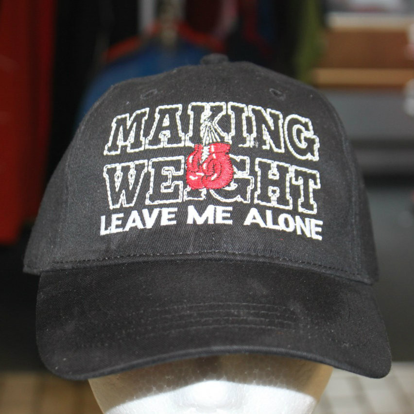 Making Weight Boxing MMA Hat - Hollywood Filane 4b34aab24643
