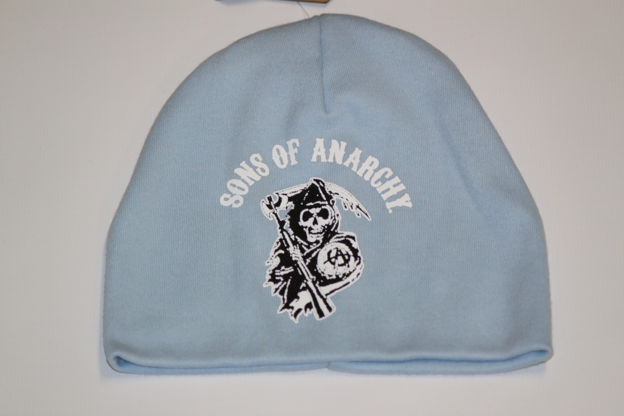 Light blue Baby Sons of Anarchy beanie. Price   11.31. Image 1 cd3df1db4bb8