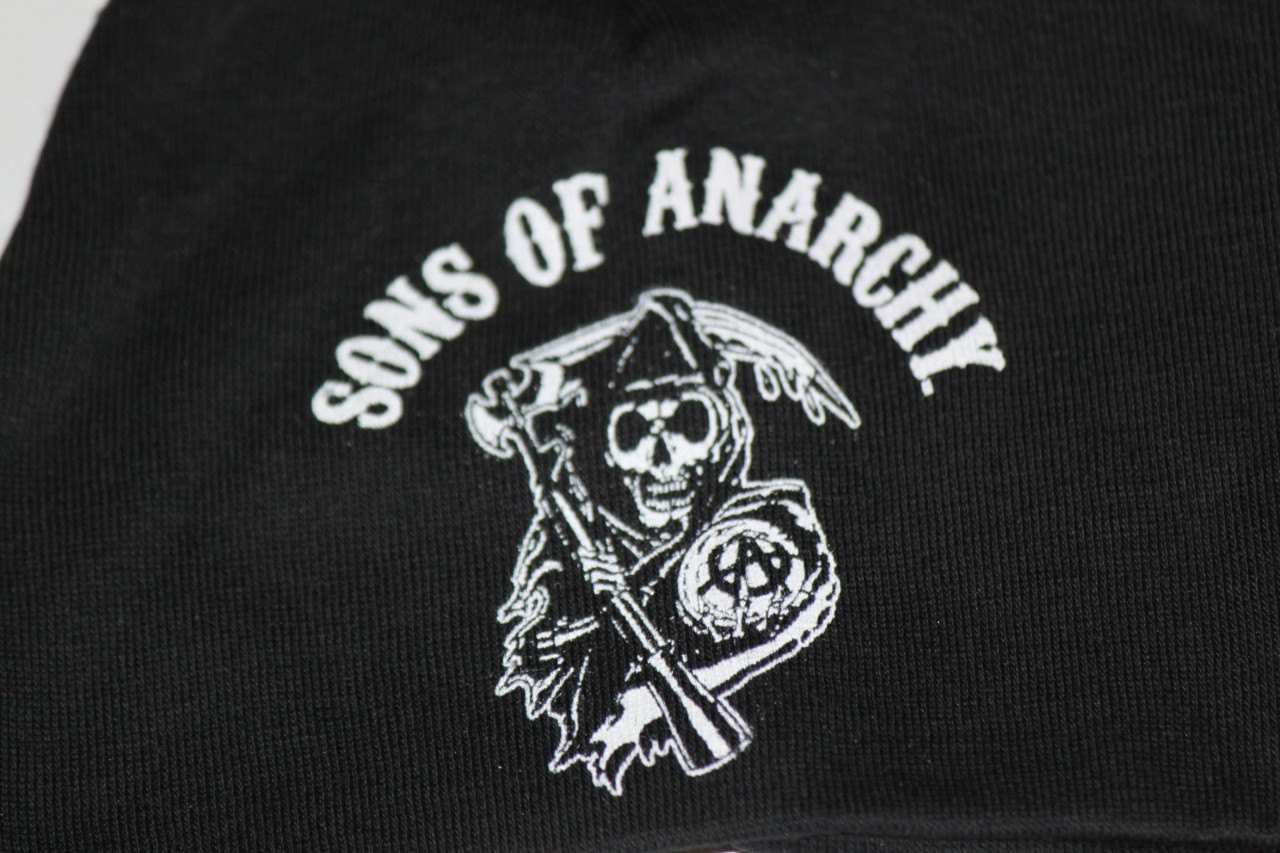 dda50e9a5b2 Black Baby Sons of Anarchy beanie. Price   11.31. Image 1. Larger   More  Photos