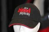 Give Blood Play Hockey Hat