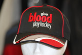 Give Blood Play Hockey Hat Deluxe