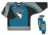 Pic River Sharks Hockey Socks