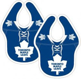 NHL Toronto Maple Leafs 2-Pack Baby Bibs