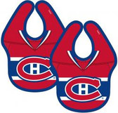 NHL Montreal Canadiens 2-Pack Baby Bibs