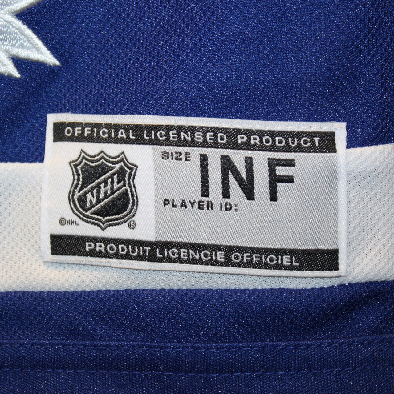 15d704bf9 Toronto Maple Leafs licensed Toddler Replica (INFANT) Home NHL ...