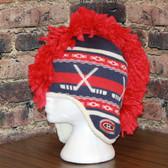 Montreal Canadians Mohawk Reebok Center Ice Mohawk Knit Hat