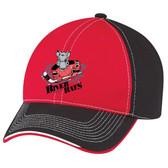 River Rats Hockey logo Deluxe cap