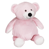 Mister Buddy  Personalized  Embroidered – 16″ Pink Bear
