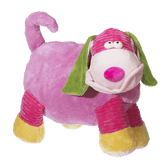 Mister Pauley Puppy Layabout - Pink 19 inch