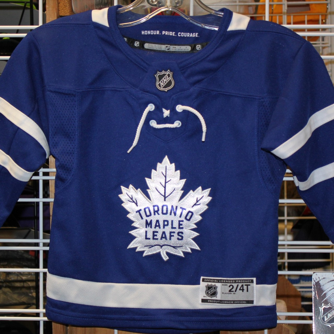 81c693985 Toronto Maple Leafs NHL (2-4 T) TODDLER Replica Jersey - size 2-4T ...