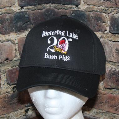 Bushpigs black hat