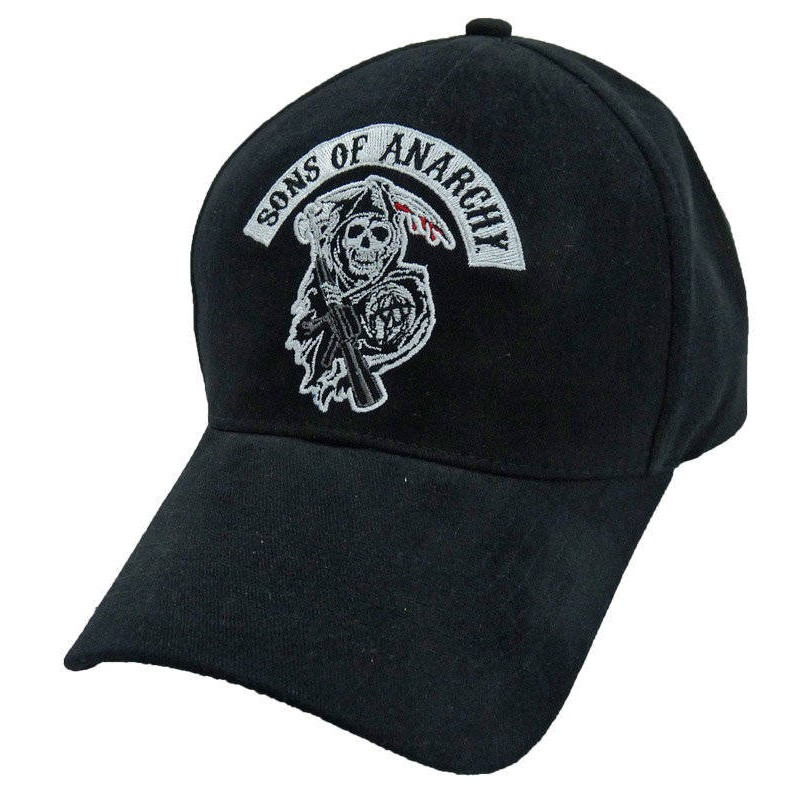 Be part of the club and show your SAMCRO support. Sons of Anarchy iconic  reaper 9a93a72b5a23