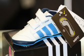 Adidas Liladi 4 Crib shoes-Blue