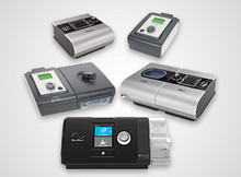 A small sample of the variety of CPAP Machines available