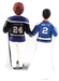 Hockey Player Cake Topper