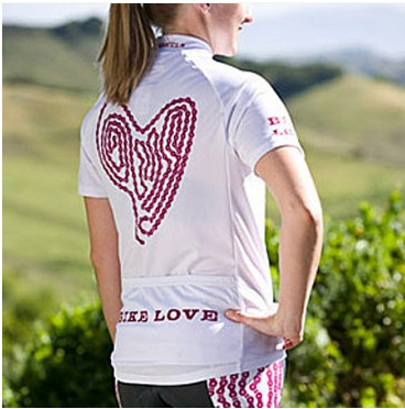 Dude Girl Bike Love Bike Jersey