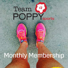 Team Poppy Sports Monthly Membership