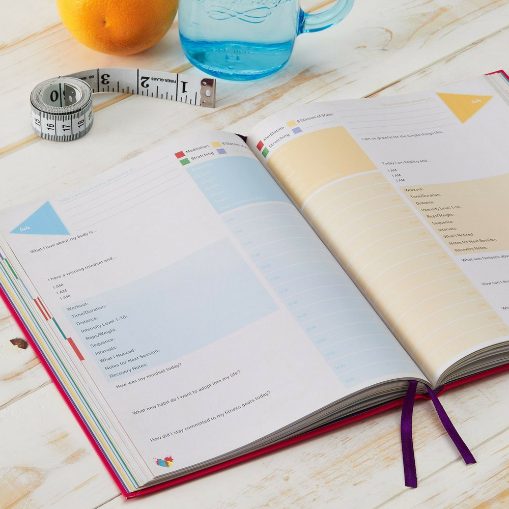 daily greatness journal a fitness journal for athletes