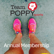 Team Poppy Sports Annual Membership