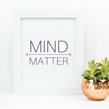 Art Print Mind Over Matter Power 12 x 16