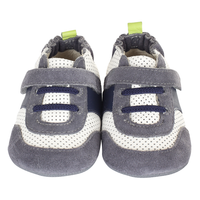 Everyday Ethan Baby Shoe, Grey, Mini Shoez