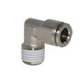 Metal Push In Fitting PT14 Series - Taper Elbow Fitting Male