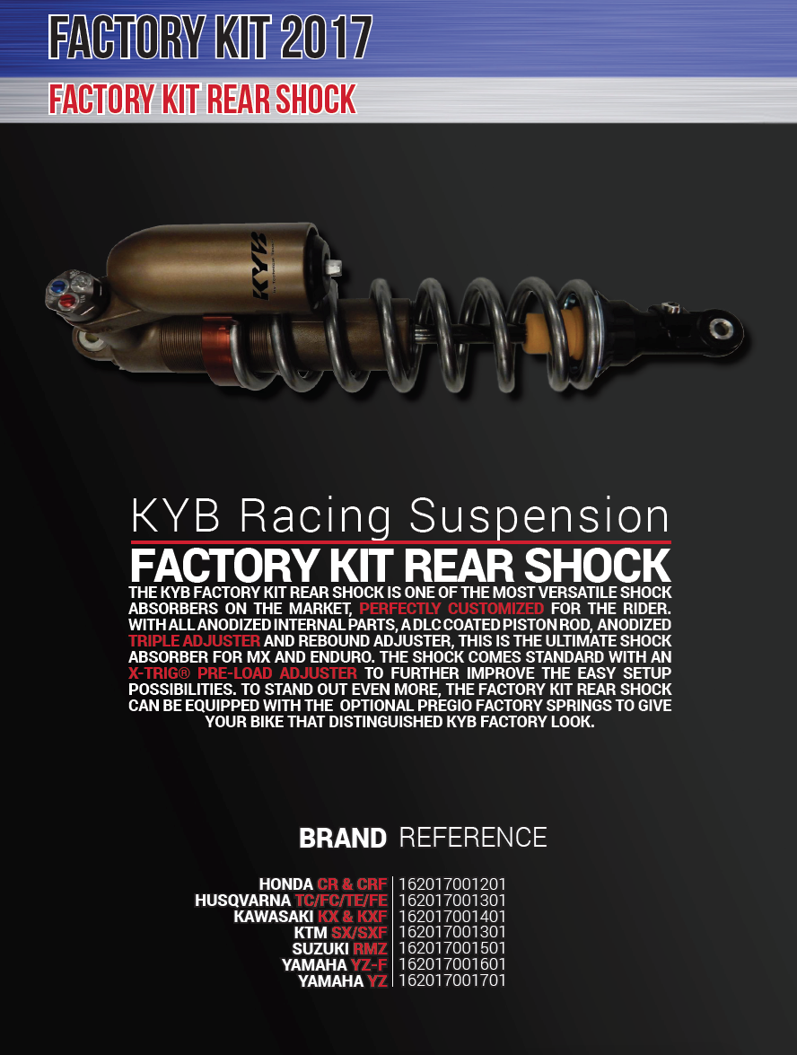 KYB Factory A Kit Shock