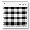 click here for black and white picnic plaid colored tablevogues