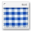 click here for blue and white picnic plaid colored tablevogues