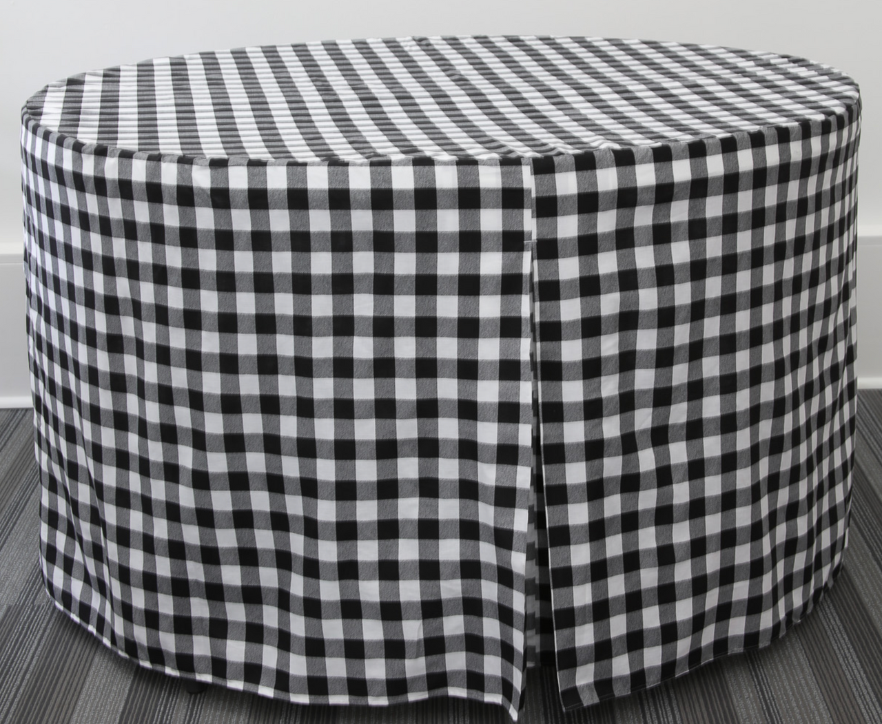 60-Inch Full Coverage Fitted Table Cover