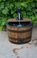 Some Assembly is required  Dimensions of each Wine Fountain Approximately 36''Tall 28''Wide Weight 100 pounds each 27 Gallons.  Submersible electric pump included.