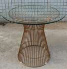 Replica Warren Platner - Wire Dining Table - Rose Gold  - 80cm, 90cm, 100cm