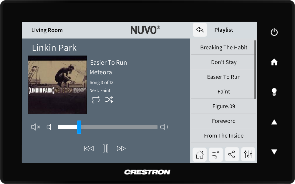Nuvo Player - Crestron Application Market