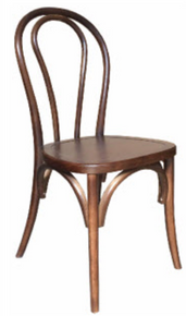 Brown Bentwood Chair In Stock