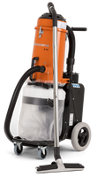 "S 13 is a quiet-operating single-phase HEPA dust collector to match the power cutter Husqvarna K 3000, hand held grinders, small grinders 5-7"", small scarifiers and drywall sanders. This professional dust extractor is an all-around construction vacuum for picking-up a wide range of building materials and debris."