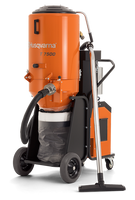 T 7500 is an effective industrial dust extractor to match the grinding machines Husqvarna PG 820, PG 680 and PG 400 (3-phase) as well as shavers, shot blasters and saws. Ideal for heavy-duty work and exacting demands on dust extraction.