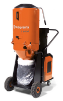 T 8600 is an effective industrial dust collector to match the grinding machines Husqvarna PG 820 RC, PG 820, PG 680 RC, PG 680, PG 530 and PG 400 as well as shavers, shot blasters and saws. Ideal for heavy-duty work and exacting demands on dust extraction. T 8600 is equipped with a quiet, yet powerful 480 V turbine motor delivering exceptional airflow.