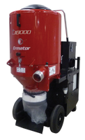 The most powerful HEPA Dust Extractor on the market today. Greatly expanded pre-filter surface area acts as a built-in pre-separator providing superior cyclonic separation for long, uninterrupted service periods. The T18000 produces plenty of airflow to handle a single four-head grinder or two each three-head grinders. Ermator T18000 is the only extractor that can keep up with a larger shaver.