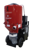 The most powerful 230V HEPA Dust Extractor on the market today. Greatly expanded pre-filter surface area acts as a built-in pre-separator providing superior cyclonic separation for long, uninterrupted service periods. The Ermator T15000 produces plenty of airflow to handle a single four-head grinder or two each three-head grinders. T15000 is the only extractor that can keep up with a larger shaver.