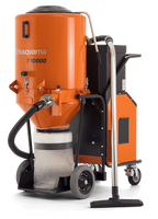 T 10000 is an effective industrial dust extractor to match the highly productive Dual Drive Technology™ grinding machines Husqvarna PG 820 RC, PG 820, PG 680 RC