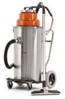 Husqvarna W 70 P is a powerful industrial wet and slurry vacuum designed for the toughest jobs. This is achieved by using high quality stainless steel components and a special combination of filter and float that protects the motor. Where most wet vacs can only handle water, W 70 P can deal with liquids such as concrete slurry, oils and machining coolants. Recommended for concrete drilling, sawing, grinding and wall/wire sawing.