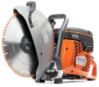 The Husqvarna K 770 is a powerful all-round power cutter with features that make it one of the best power cutters on the market. Equipped with semi-automatic SmartTension™ system allows for optimal power transmission, minimum wear and maximum belt life.