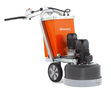 PG 530 is a concrete floor grinder available in both 1- and 3-phase versions with high capacity. Its grinding width of 21 in. means it is excellent for residential and light commercial purposes.