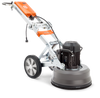 PG 450 is a versatile and user-friendly planetary floor grinder. Perfect for a wide range of applications, e.g. coating removal, concrete grinding and concrete polishing. It is also suitable to use to make Husqvarna HiPERFLOOR®.