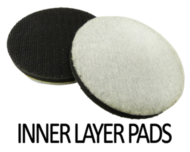 """3"""" Inner  Layer Pads push the diamonds out further from your holder."""