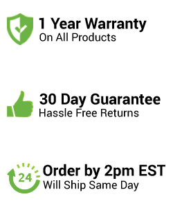 Warranty, Guarantee and Shipping Banner