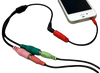 PC headset adpater for iPhone or Android